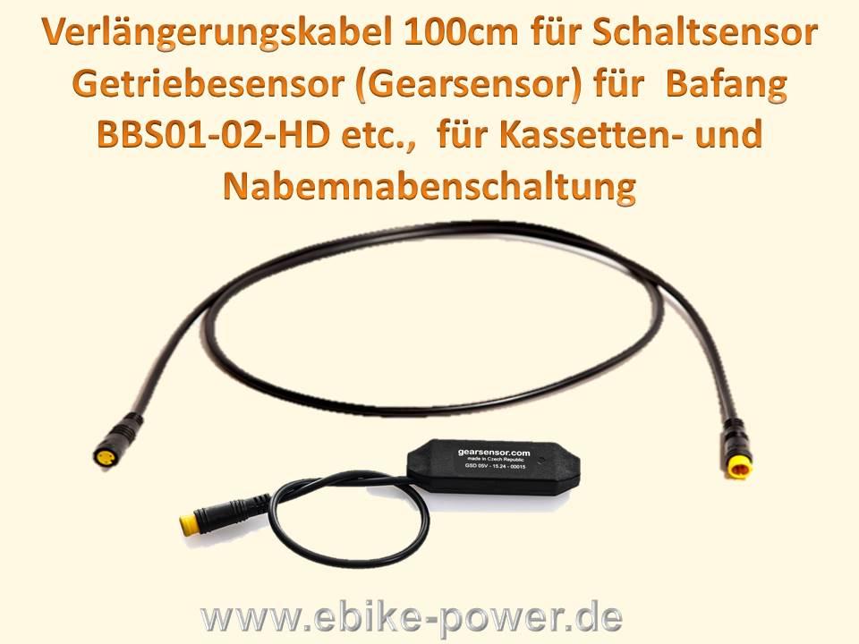 Gearsensor f Bafang BBS01 BBS02  EBike PEDELEC Umbau Kit Umrüstung Schaltsensor