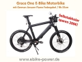 Grace One E-Bike / Motorbike / S-Pedelec Rh. 55cm